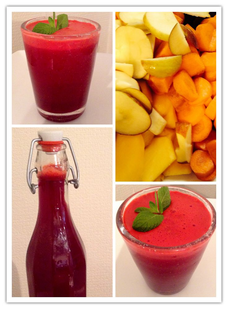 Juice delicious - Beetroot, carrots, apples, mango, with a touch of ...