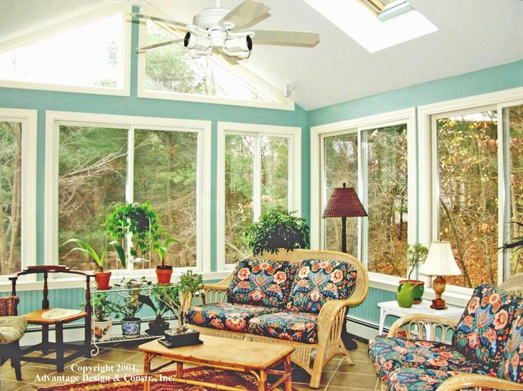Sliding windows of various size sun room dining room for Sunroom sizes