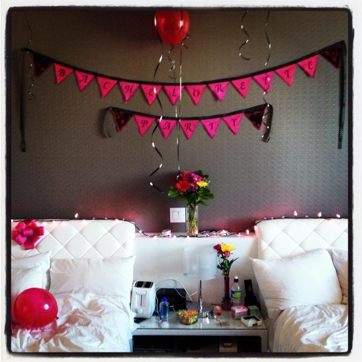 Bachelorette party decorations bachelorette wedding for Bachelorette party decoration ideas