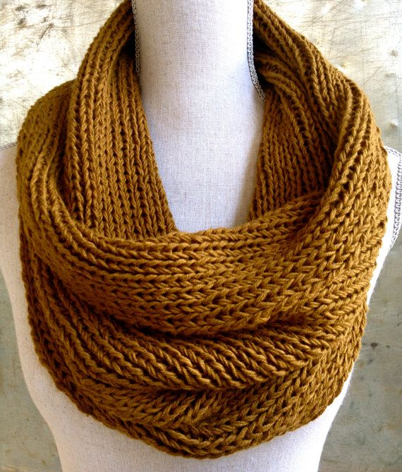 Knitting Pattern For Head Scarf : Ribbed Cowl Knitting Pattern - Craft Party - Circle Scarf, Cowl, Head?