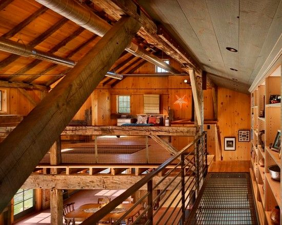 Remarkable Barn Conversion Decorating Ideas Rustic Attic