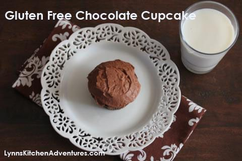 Gluten Free Chocolate Cupcakes | Gluten Free Sweets | Pinterest