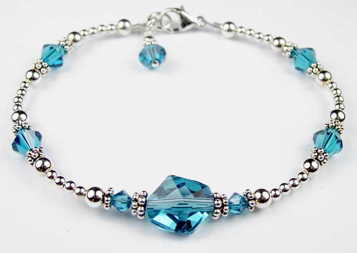 zircon december birthstone bracelets