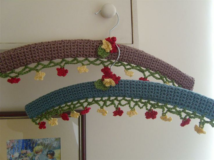 Crocheting On A Hanger : MarmaladeRose: Crochet Hanger Crochet. Something I will do someday ...