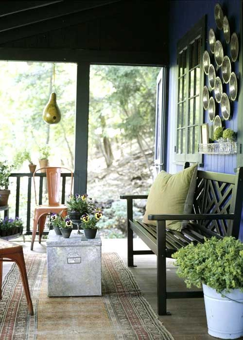 Classic Country Porches | Decorating | Create a space | Pinterest