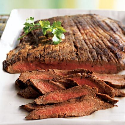 Marinated and Grilled Flank Steak with Bacardi Light Mojitos ...