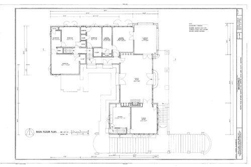 20th Century Shingle Style Home Plans Mid Century Modern