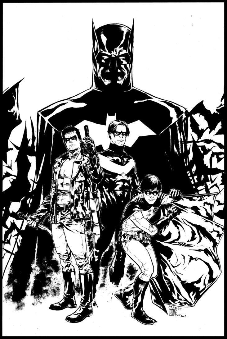 Batman, Nightwi...