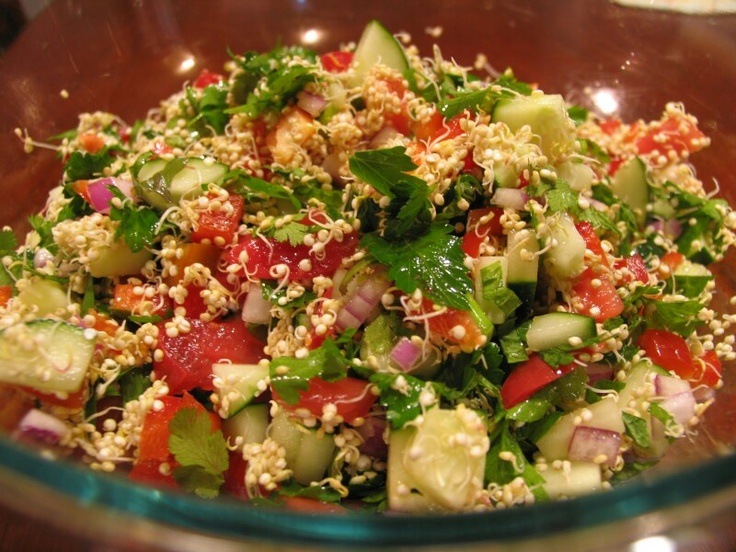 Sprouted quinoa tabbouleh | Things to eat and how to cook them | Pint ...