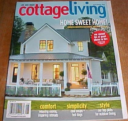 I really miss cottage living magazine magazines i read for Home and cottage magazine
