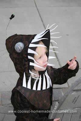 Homemade angler fish costume diy dress up pinterest for Angler fish costume