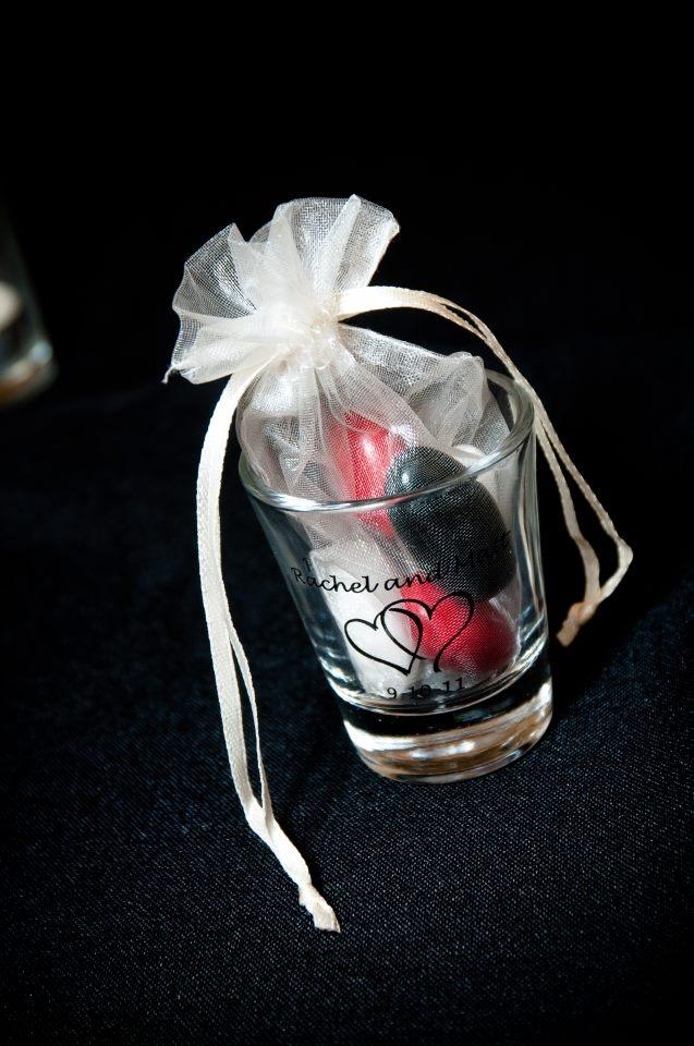 shot glass wedding favors wedding pinterest