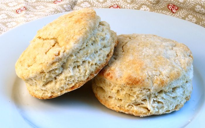 Impossibly Light and Flaky Whole-Wheat Buttermilk Biscuits