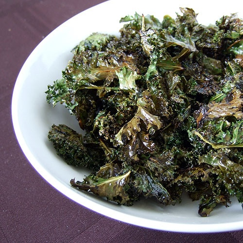 Lemon Kale Chips From Elana's Pantry 1 bunch kale 2 tablespoons ...