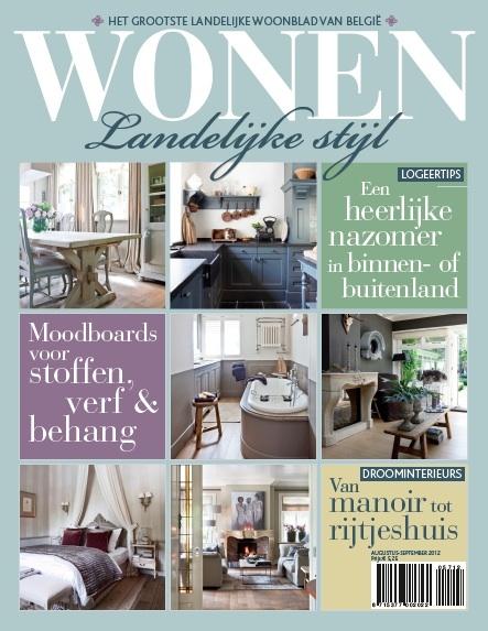 Landelijk Wonen Keukens Tijdschrift : In avant-premi?re: de cover van WONEN Landelijke Stijl editie