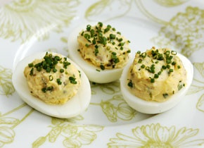 Deviled Eggs with Tarragon | My first love...food | Pinterest