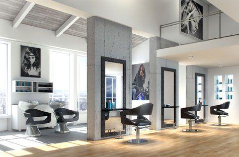 Pin by loida imagen contempor nea on salones de belleza - Diseno peluqueria ...