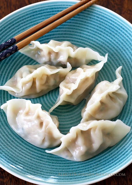 Mandu (Korean Dumplings) | yumminess | Pinterest