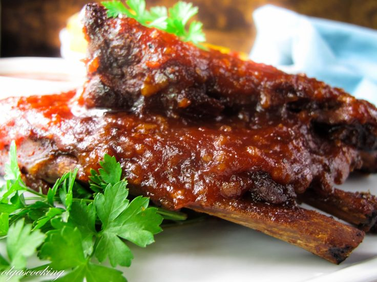 cooker cola braised beef short ribs barbecue ribs with cola sauce ...