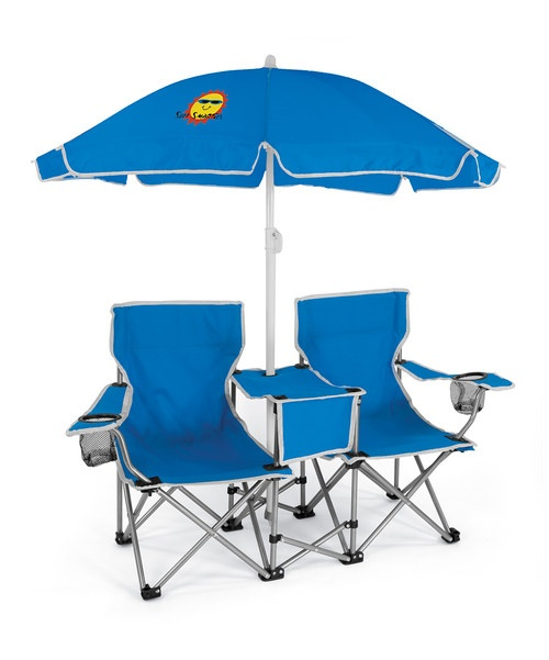 Double Chair with Umbrella