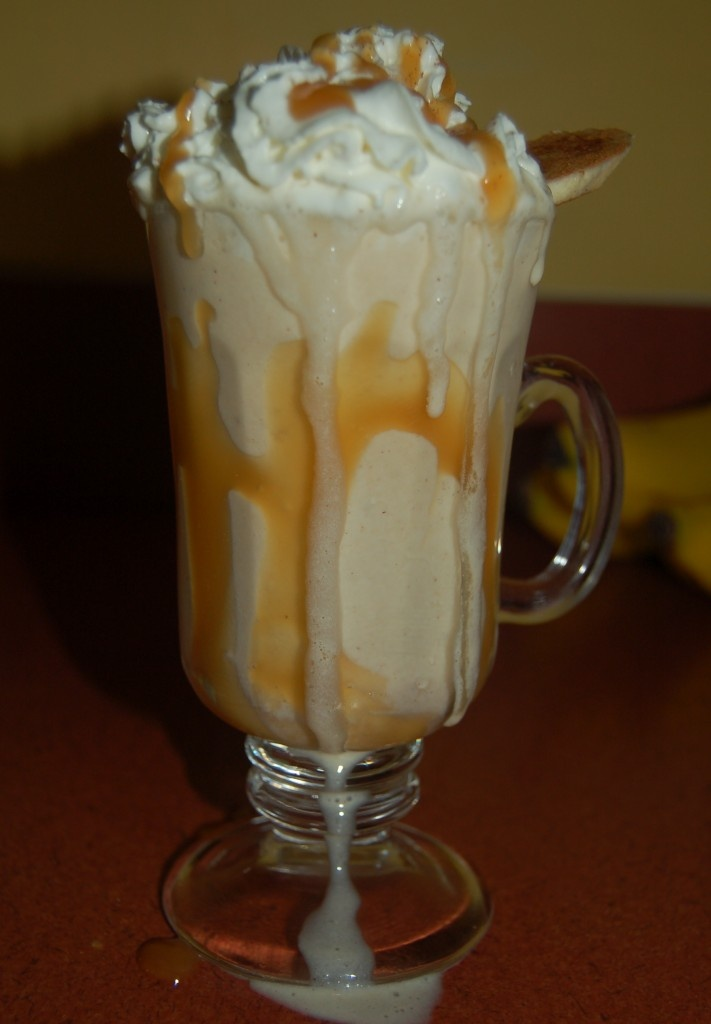 Bananas Foster Shake. Hell to the yes please.