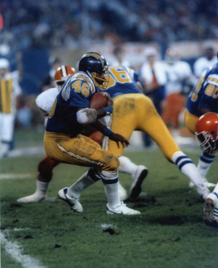 Chuck Muncie San Diego Chargers San Diego Chargers