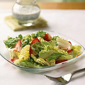 Superfast Summer Recipes | Strawberry Salad with Poppy Seed Dressing | CookingLight.com