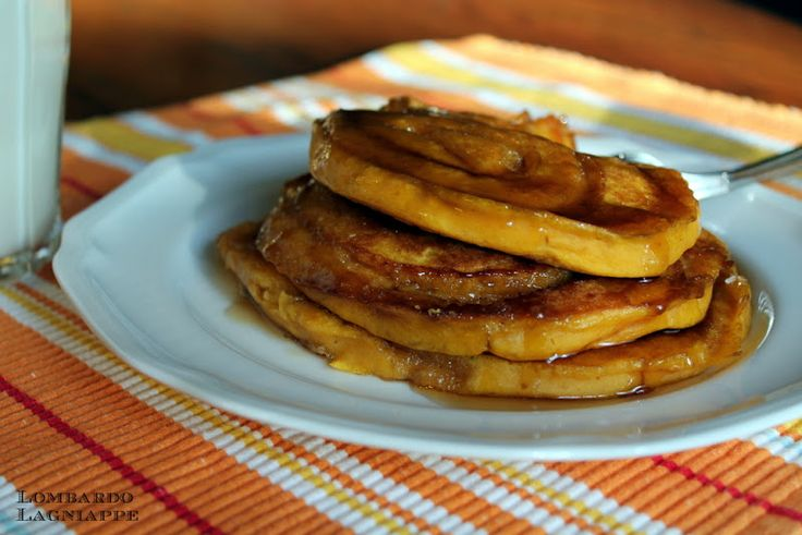 Cinnamon Swirl Pumpkin Pancakes | Holiday Treats | Pinterest