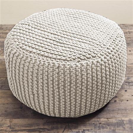 Knitted bean bag interior Pinterest