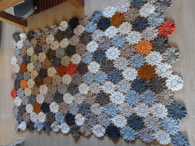 Crochet flower blanket ? Crochet ? Pinterest