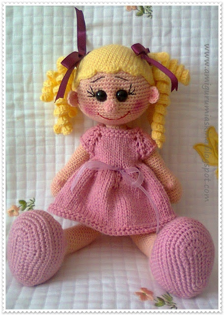 crocheted toys crochet Pinterest