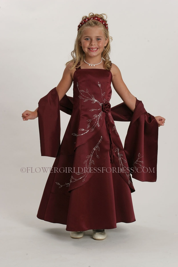 Wine Colored Mother of the Bride Dresses