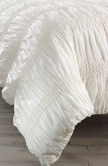 Nordstrom at Home 'Isabella' Duvet Cover available at #Nordstrom
