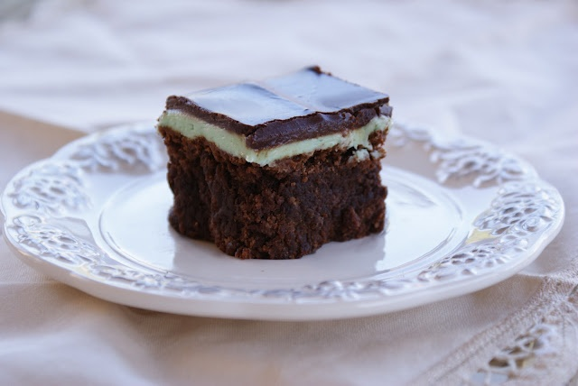 Be Book Bound: Recipe: Chocolate Mint Brownies