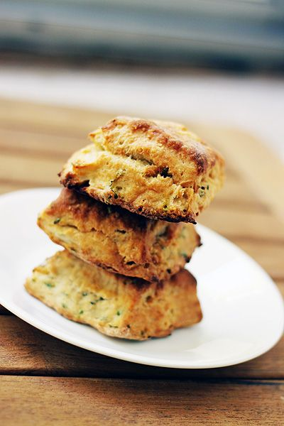 Cream cheese and chive biscuits | Food Stuff | Pinterest