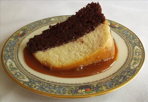 Chocolate Flan Cake Recipe   cake   Pinterest