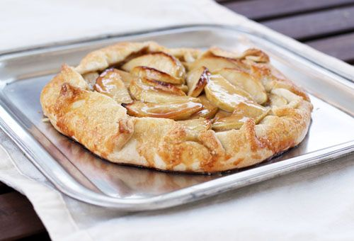 ... Ideas, Recipes and More!: {Thanksgiving Prep} Caramel Apple Galette