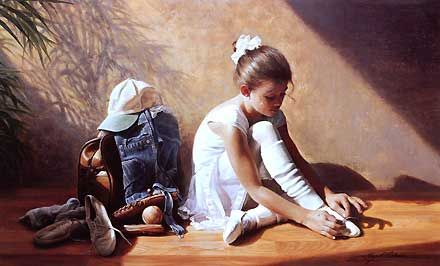 Denim to Lace - Greg Olsen