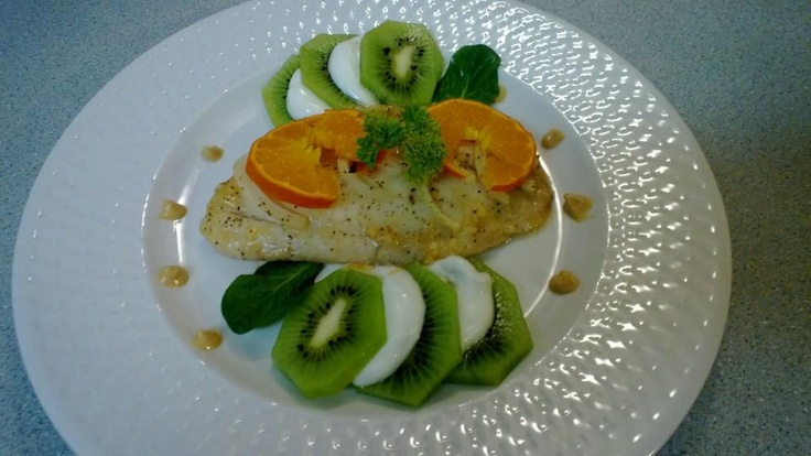 Honey Mustard Baked Tilapia - Hubby made this and its TERRIFIC!