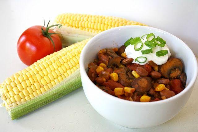 Summer Vegetable Chili - make use of those wonderful garden veggies!