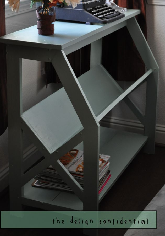 V Frame Bookshelves