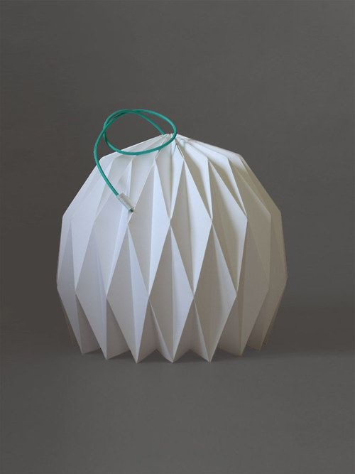 LAMPSHADO - origami paper lampshade Origami Pinterest