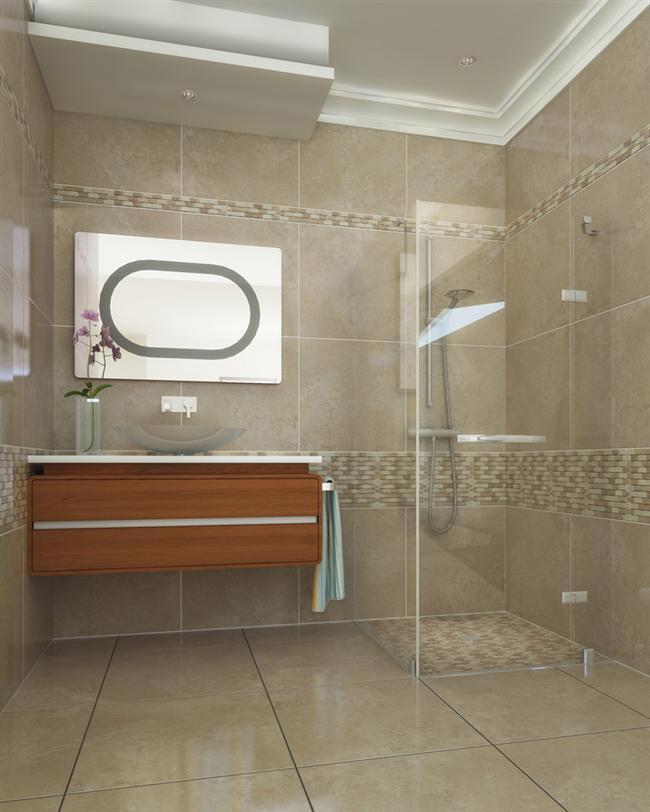 Bathroom inspiration nice tile bathroom pinterest for Bathroom tile inspiration