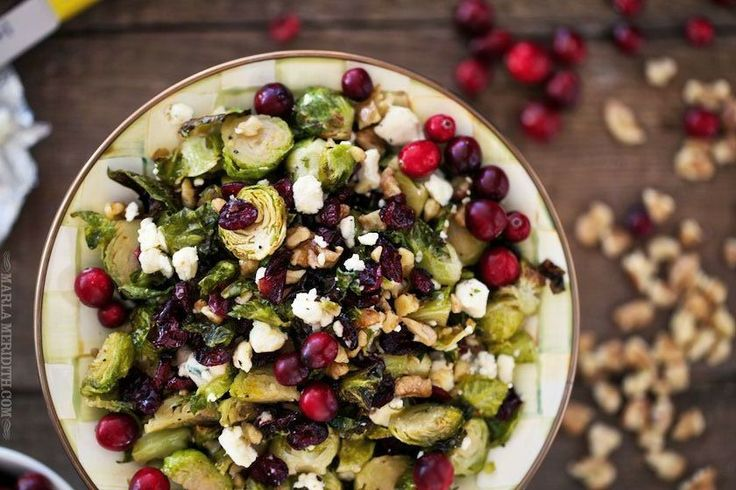 Maple Roasted Brussels Sprouts with Walnuts, Blue Cheese, and ...