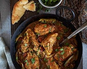 Nagore Chicken Curry; London's Ganapati Restaurant makes this recipe ...