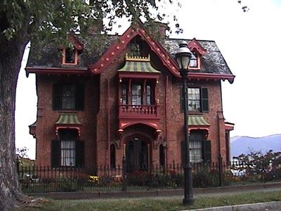 House The William Warren House Designed By C Vaux Gothic Revival