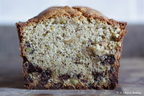 Chocolate Chip Pistachio Pound Cake | Cakes | Pinterest