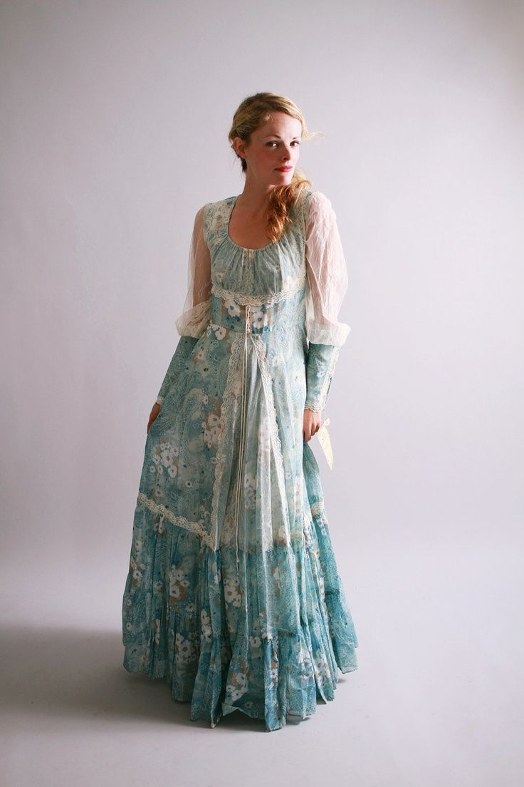 Vintage Gunne Sax Dress My Style Wearables Pinterest