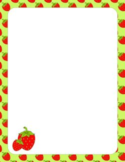 Strawberry Border | MARCOS | Pinterest