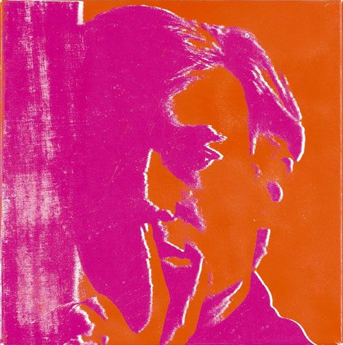 Painting Title: Self Portrait 1967  Andy Warhol